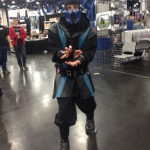 Sub-Zero at ComicPalooza 2014
