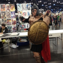 This is Sparta! at ComicPalooza 2014