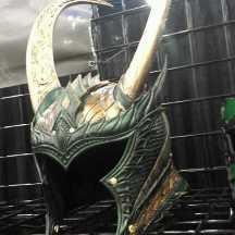 Loki Helmet at Comicpalooza 2014
