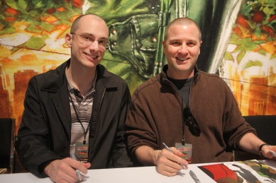 Young Justice Producers: Brandon Vietti & Greg Weisman