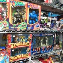 Space Cadets X-Men toys