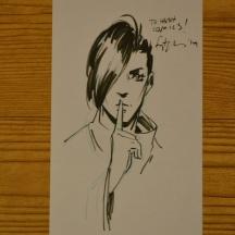 Fiona Staples Alana sketch