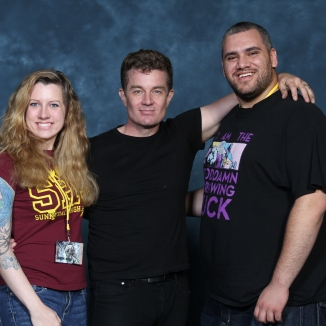 James Marsters with Adrian and I