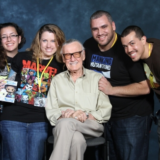 Stan Lee and the gang