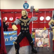 LEGO Thor at Comicpalooza 2014