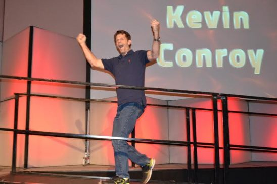 Kevin Conroy is pumped