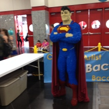 LEGO Superman at Comicpalooza 2014