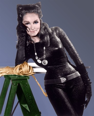 Newmar as Catwoman
