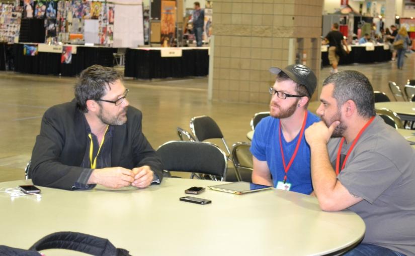 Denver Comic Con 2014 Interview – YanickPaquette