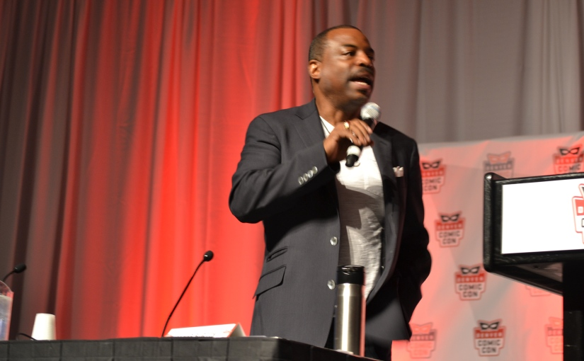 Denver Comic Con 2014 – Reading Rainbow: LeVar Burton