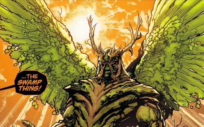 Swamp Thing Wings