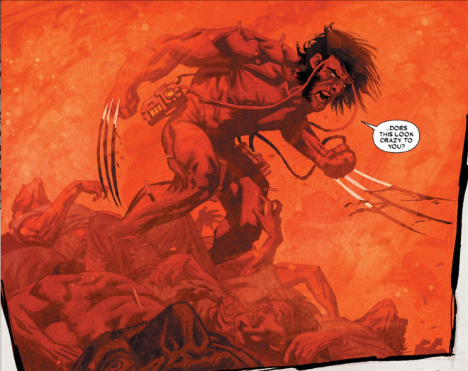 WOLVERINE DOES THIS LOOK CRAZY