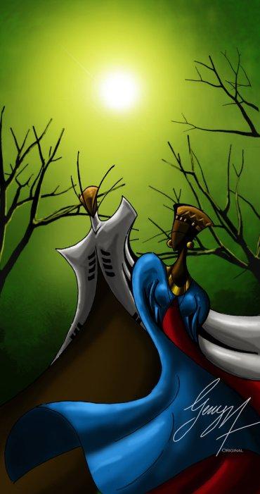 Zulu Africanis by Gerry Mulowayi.