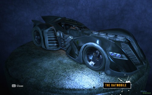arkham batmobile