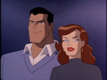 Picture Perfect couple Bruce Wayne and Andrea Beaumont.