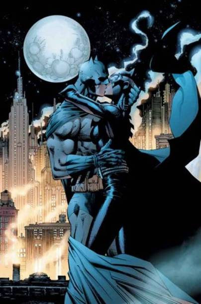 The Kiss by Jim Lee in Hush.  Batman and Catwoman 4eva!