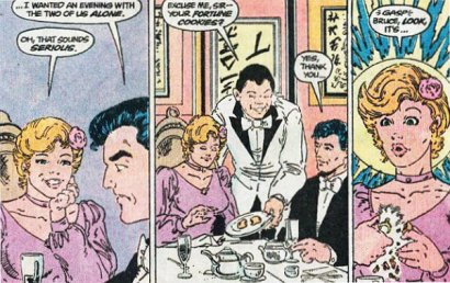 Bruce and Rachel Caspian get in engaged in the comics.