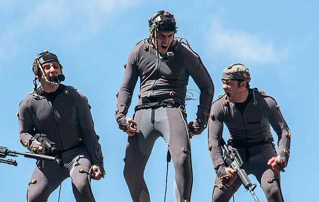 Just monkeyin around in the MoCap suits