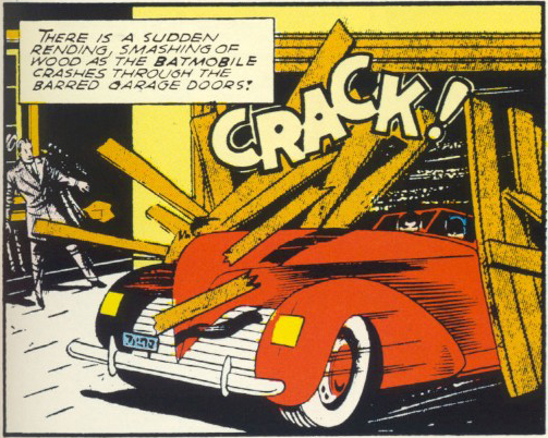 first appearance batmobile