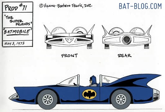 Super Friends batmobile