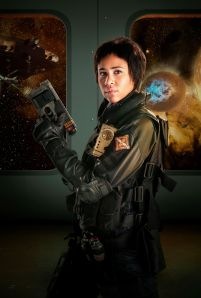 Picture Shows: Zawe Ashton as Journey Blue