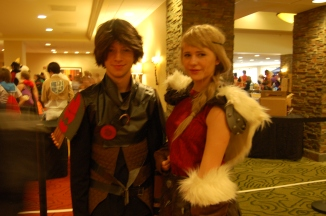 How to Train Your Dragon: Hiccup and Astrid