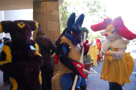 Pokemon: Umbreon, Mega Lucario, and Braxien