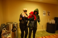 Black Canary, Red Arrow and Green Arrow
