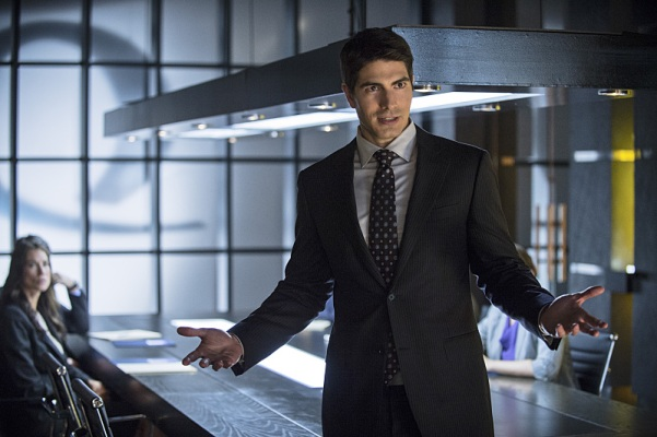 Ray Palmer is shaking things up in Starling City.  Too bad he's a total dick.