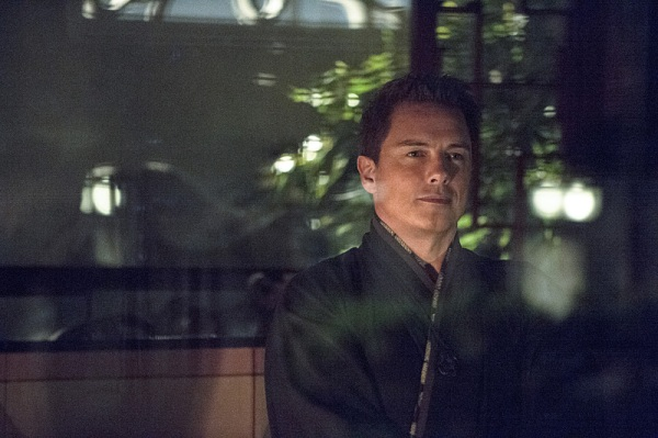 My name is Malcolm Merlyn.  I'm conniving and I scream a lot.