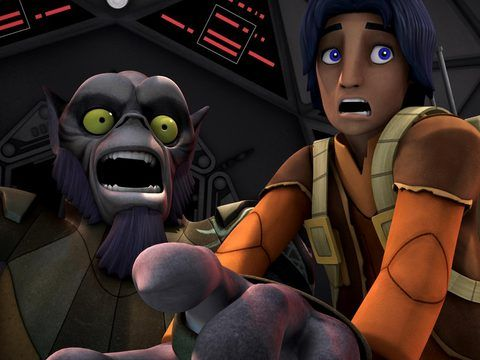 """Star War Rebels – """"Fighter Flight"""" –S1E4"""