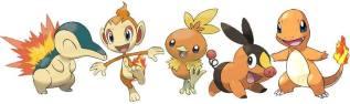 Pokemon Fire Types