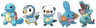 Pokemon Water Types