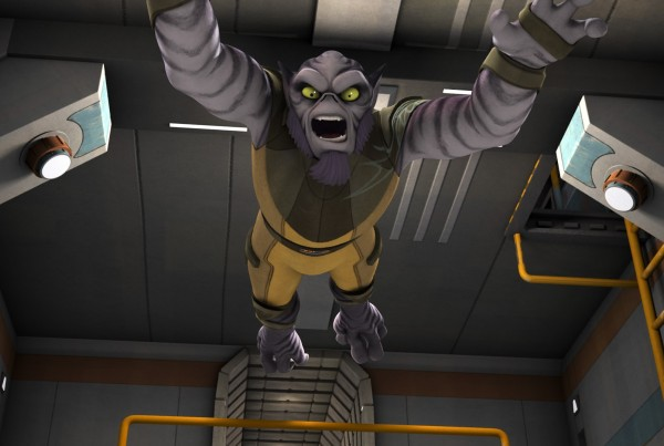 Zeb wants more screen time!