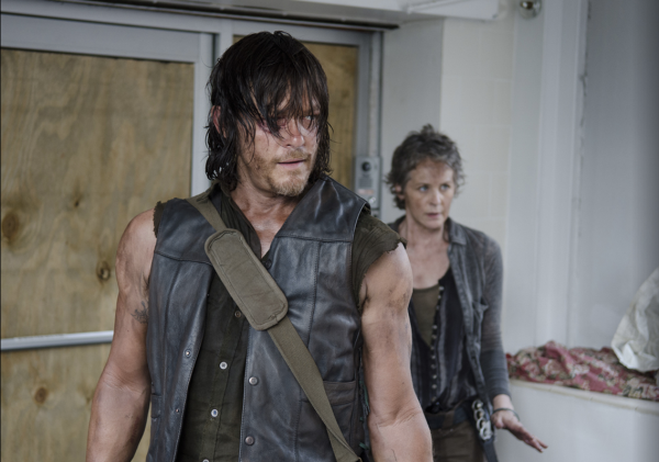 Carol and Daryl - a match made in... the end of the world.
