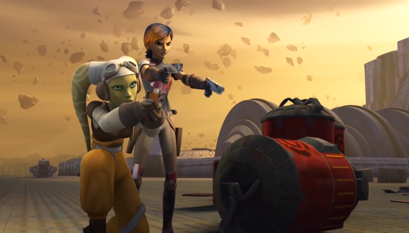 """Star Wars Rebels – """"Out of Darkness""""S1E7"""