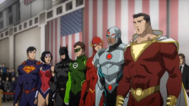 justice league war 1 straight to dvd best of 2014