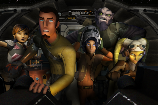 Star Wars Rebels Best of 2014 TV Series Animated Runner Up
