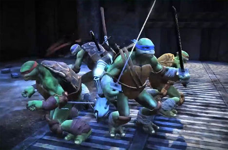 TMNT Out of the Shadows Best of 2014 Video Games DLC Runner Up