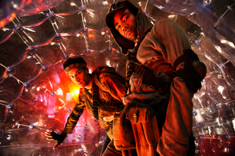 Troy and Abed (in a bubble!) Best of 2014 TV Series Best Character Winner 1