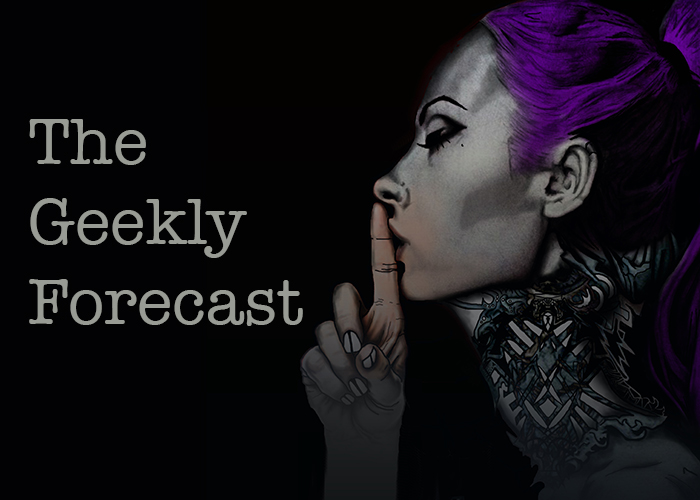 The Geekly Forecast: August 31st – September 6th, 2015