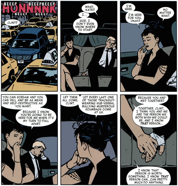 Power Couples - Hawkeye and Hawkguy