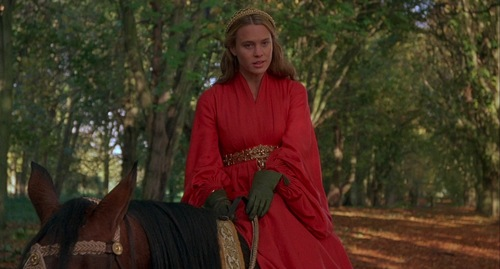 Princess Buttercup in The Princess Bride