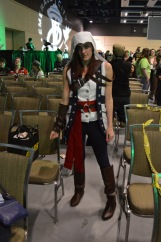 Assassin's Creed... she was blending in so well I almost missed her!