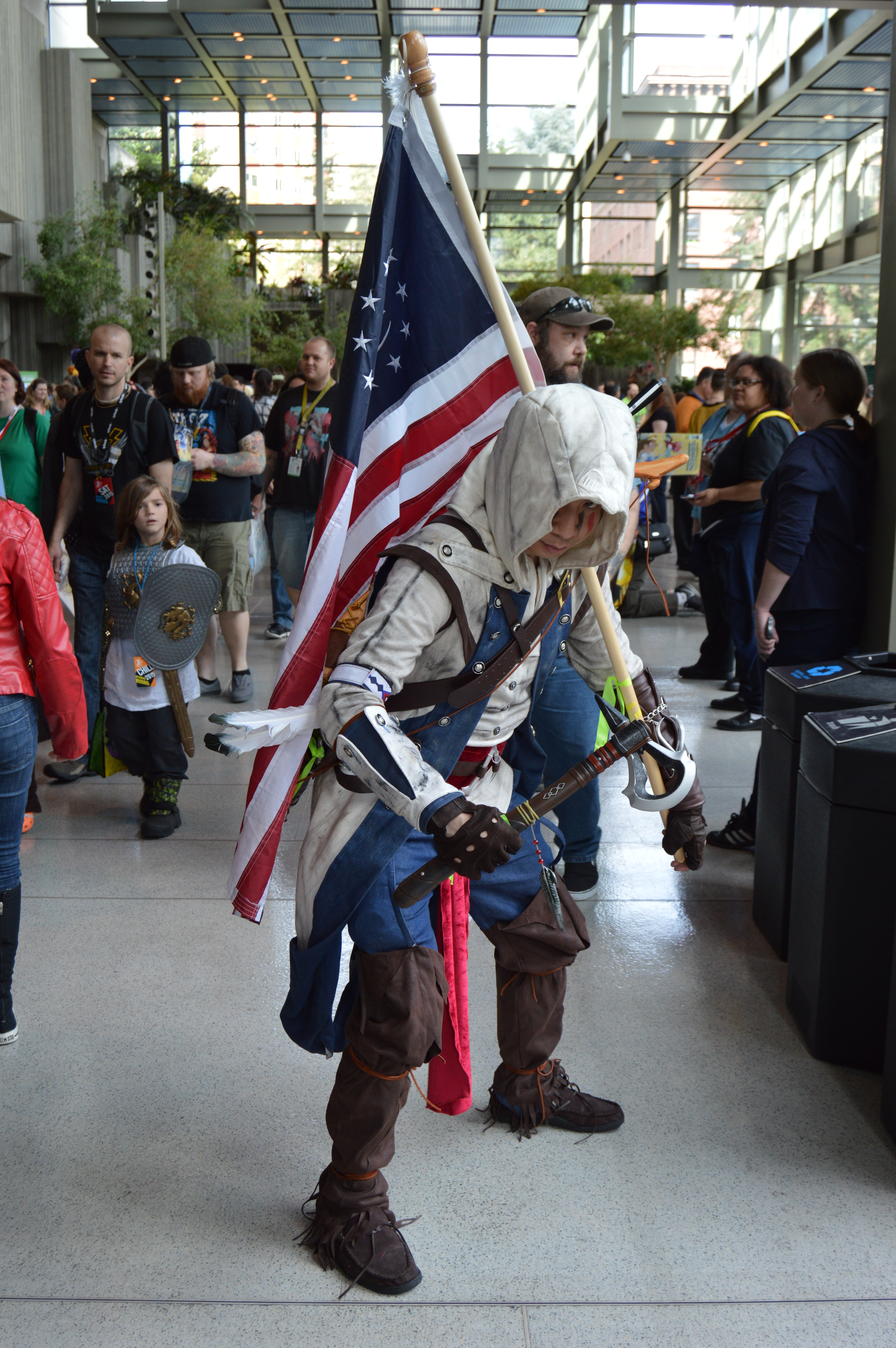 Assassin S Creed Iii Connor Cosplay At Emerald City Comic Con 2015