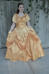Belle dazzles in the hall at ECCC.