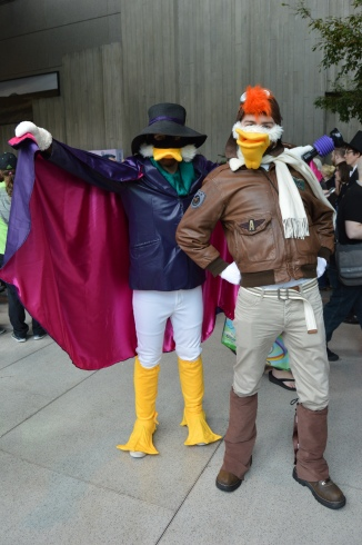 Darkwing Duck and Launchpad get dangerous.