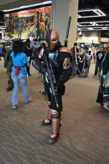 Deathstroke struck terror in me!