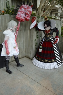 This take on Alice and the Red Queen is downright scary!