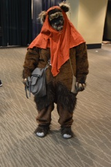 Awwww.... how can you not want to hug this Ewok?